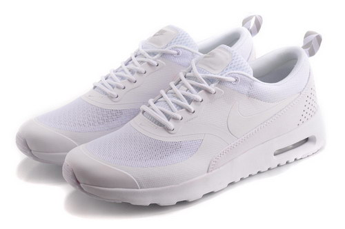 Womens Nike Air Max Thea All White Low Cost
